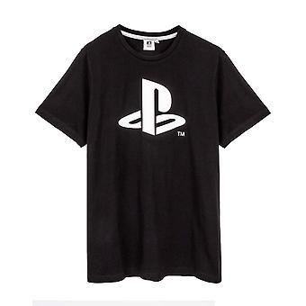 Playstation Mens Logo Short Pyjama Set