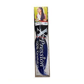 Hair extensions X-Pression Nº T1B/Azul