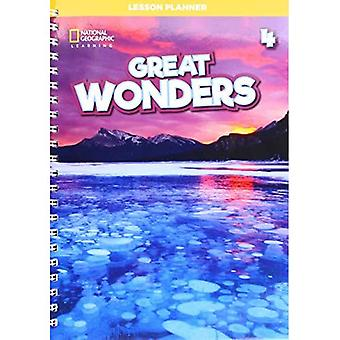 Great Wonders 4: Lesson Planner with Class Audio CD, DVD, and Teacher's Resource CDROM