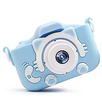 Dual lens plastic 2 inch hd screen toy photography birthday gift children camera digital mini usb