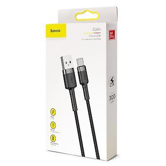 USB-kaapeli tyyppi C 3 metriä - 2A Tuki Pikalataus 3,0