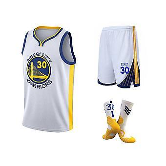NBA Golden State Warriors Stephen Curry #30 Jersey, shorts, meias