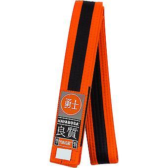 Hayabusa ungdom Jiu-Jitsu belte - Orange/svart