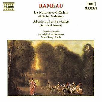J. Rameau - Rameau: La Naissance D'Osiris; Abaris Ou Les Bor Ades (Suite für Orchester) [CD] USA Import