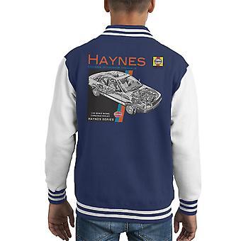 Haynes Owners Workshop Manual 1491 Audi 80 90 Kid's Varsity Jacket