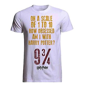 Plastic head - official harry potter -  obsessed - t-shirt