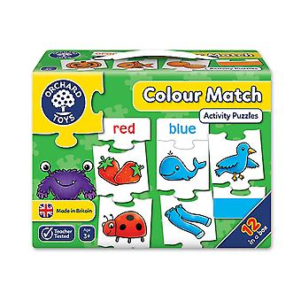 Orchard Toys color Match