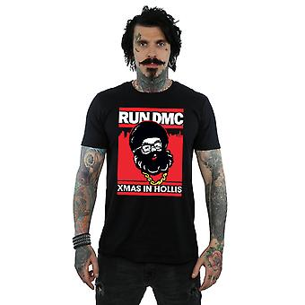 Run DMC mannen Santa kerst T-Shirt