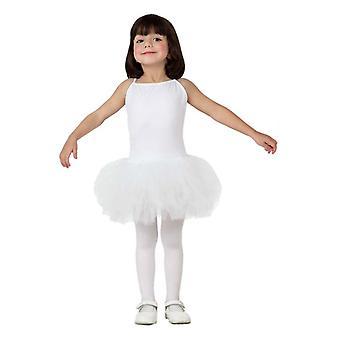 Pour enfants costumes costume ballerine blanc de filles pour filles