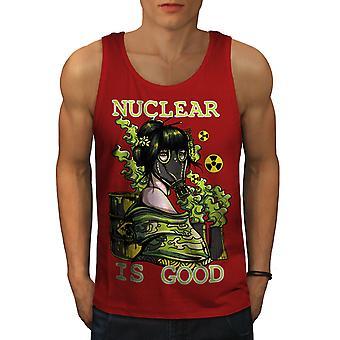 Ydinvoima on hyvä kauhu miesten RedTank | Wellcoda