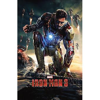 Marvel Iron Man 3 - One Sheet Poster Print