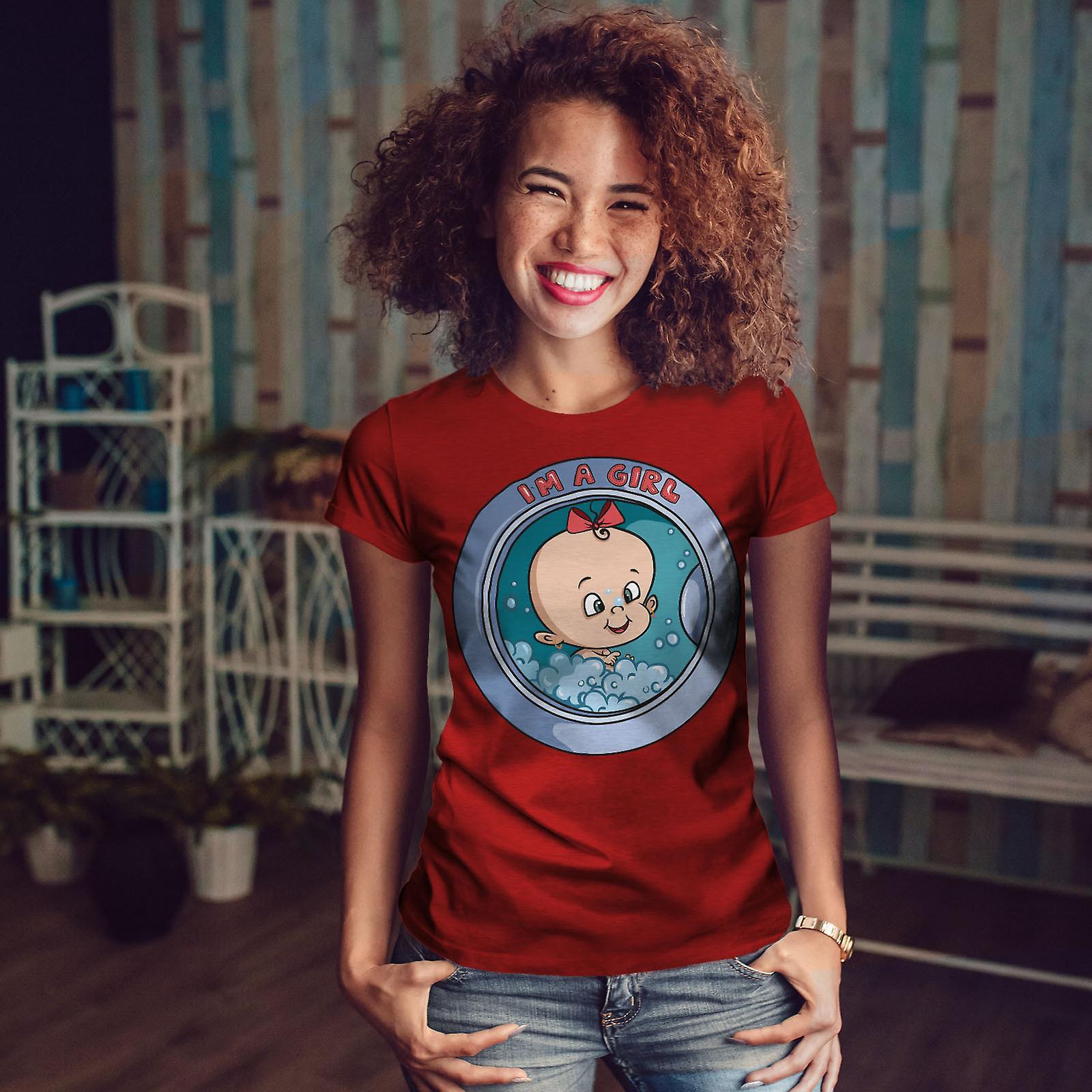 Ses une fille femmes RedT-chemise | Wellcoda