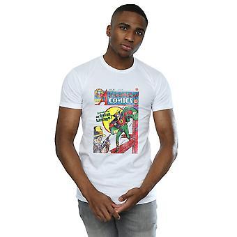 DC Comics mænds Justice League alle amerikanske tegneserier udstede 16 dække T-Shirt
