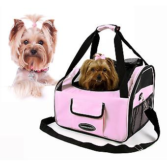 Valentina Valentti de lux Dog cat catelus Pet scaun auto Carrier v4 Pink