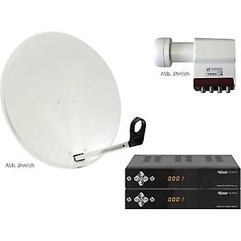 AllVision SAH 4000/80 HD SAT system + receiver Number of participants 4 80 cm