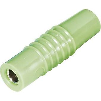 Schnepp KP 4000 L Jack socket Plug, straight Pin diameter: 4 mm Green 1 pc(s)