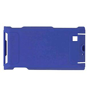 5 Pack -Wireless Solutions Rubberized Snap-On Case for Motorola Devour A555 - Cobalt Blue