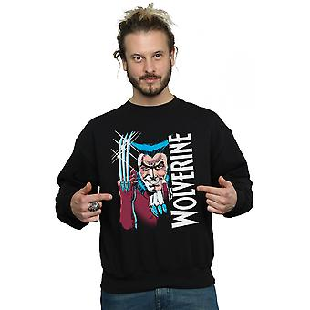 Marvel Men's X-Men Wolverine Buraya Sweatshirt gel