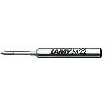 Lamy M 22 Fine Compact Ballpoint Pen Refill - Black