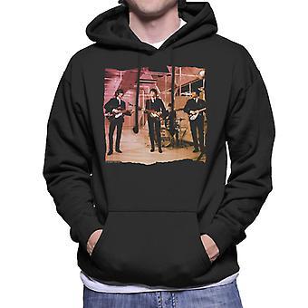TV Times Beatles Lennon McCartney Näytä suorituskykyä miesten hupullinen pusero
