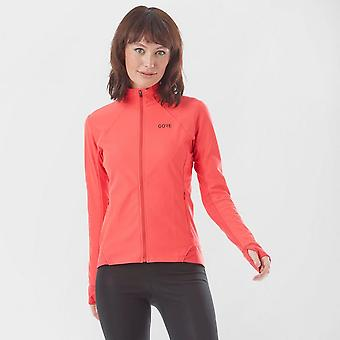 New Gore Women's R3 Partial Gore® Windstopper® Shirt Orange