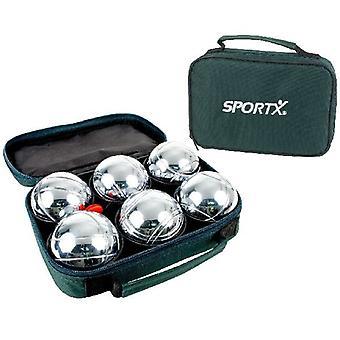 SportX Jeu De Boule 6 Set in Tas