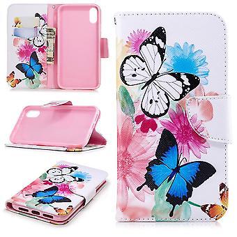 iPhone XR Brieftasche Case-Schmetterlinge