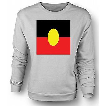 Kinder Sweatshirt australische Aborigines Flagge