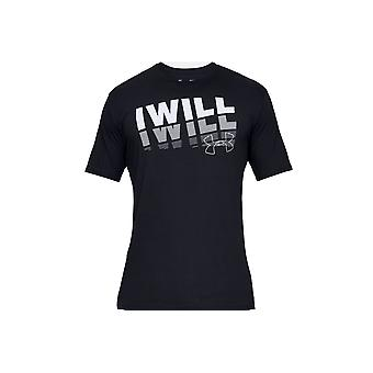 Under Armour I Will 2.0 Short Sleeve Tee 1329587-001  Mens T-shirt
