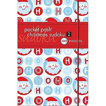 Pocket Posh Christmas Sudoku 2 - 100 Puzzles by The Puzzle Society - 9