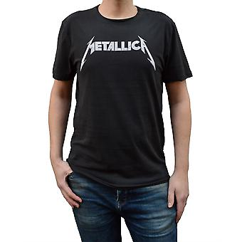 Amplified Metallica Logo Crew Neck T-Shirt