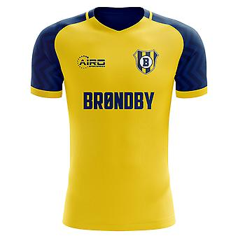 2019-2020 Brondby Home Concept voetbalshirt