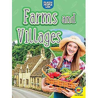 Boerderijen en dorpen (uw lokaal gebied)