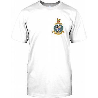 Königliche Marine Globe und Laurel - Gibraltar - Brust-Logo Kinder T Shirt