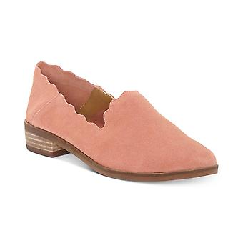 Lucky Brand Womens Chaslie Leather Almond Toe Loafers