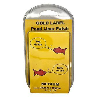 Gold Label Pond Liner Repair Patch - Medium