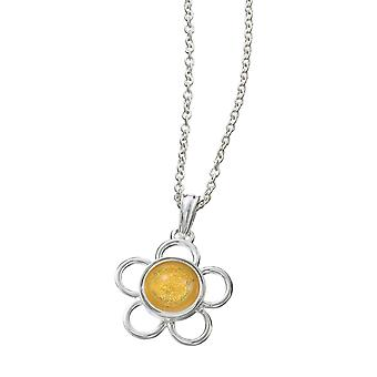 KAMELEON JewelPop rodada fio flor pingente de prata KP35