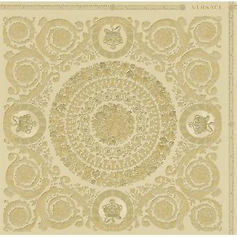Versace Heritage Gold Tapete Barock Ornament Metallic Paste die Wand Vinyl