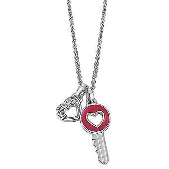 ESPRIT Damenkette Liebe Leidenschaft (ESNL92162A420)