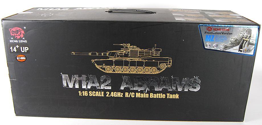 1/16 M1A2 Abrams Firing RC Tank - Camouflage Paint - Pro Version
