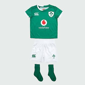 Canterbury Irlanda IRFU rugby Infant Home Pro mini Kit | La Bosfor | 2019