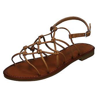Ladies Savannah Wide Fitting Flat Sandals F00249