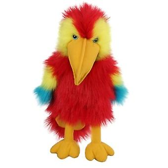 Hand Puppet - Baby Birds - Scarlet Macaw Soft Doll Plush PC004204