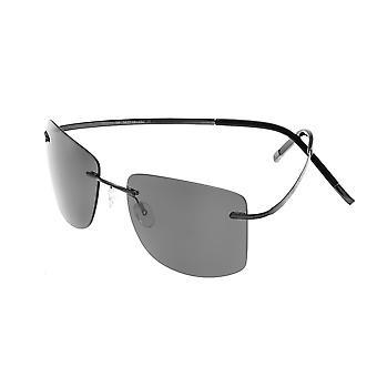 Simplify Benoit Polarized Sunglasses - Black/Black