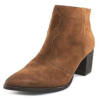 Dolce Vita Womens Lennon Leather Pointed Toe Ankle Fashion Boots