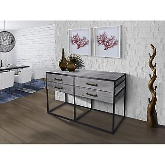 Schuller Lecco Sideboard 4D 160. Grey