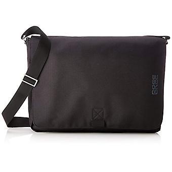 Bree Punch Style 711 Black Messenger - Unisex Backpacks Adult Schwarz (Black) 10x32x40 cm (B x H T)