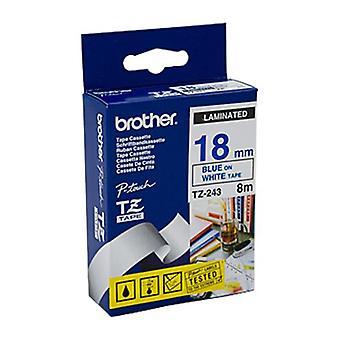 Brother TZe243-tarra nauha 18 mm