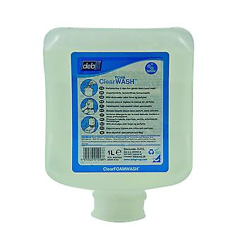 Deb Clr1L Refresh 1 Litre Clear Foam