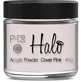 Halo Gel Nails LED/UV Gel Polish Acrylic Powder - Cover Pink 45g (N3326)